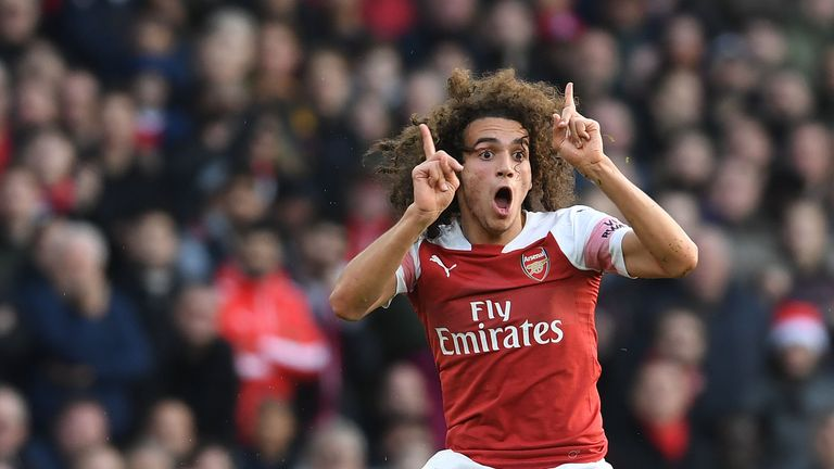 Matteo Guendouzi was among Unai Emery's first signings for Arsenal
