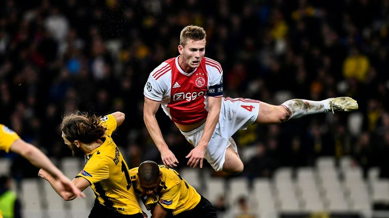 Ajax are already planning for life after the inevitable sale of Matthijs de Ligt