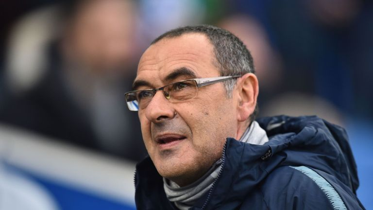 Chelsea manager Maurizio Sarri urged for an end to anti-Semitic chanting in his press conference on Monday