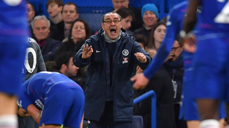 Will Sarri's Chelsea finally score at home on Saturday?