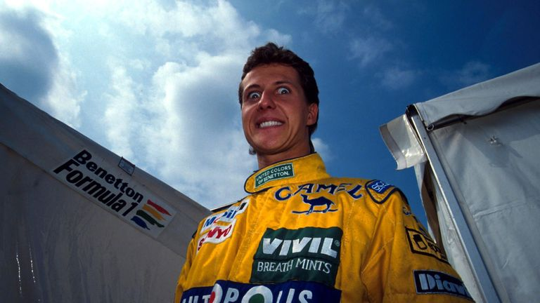 Two weeks after his debut for Jordan at Spa, Schumacher was in the colours of Benetton for his second race at Monza and scored his first F1 points with fifth place. Impressively, he immediately outperformed triple champion team-mate Nelson Piquet.