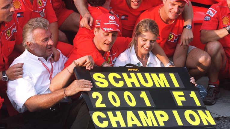 With the title weight lifted from Schumacher and Ferrari, they never looked back and a dominant 2001 title triumph was clinched at the end of summer with a class win - inevitably - in Hungary.