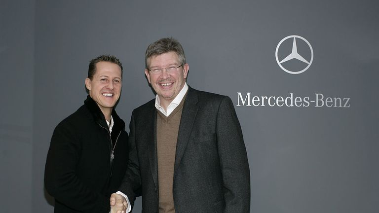 Schumacher committed to the most-anticipated comeback in sport at the end of 2009, signing on with Mercedes for three years. There, he would be reunited with Ross Brawn, the mastermind behind seven of his titles. Cue excitement for the next season.