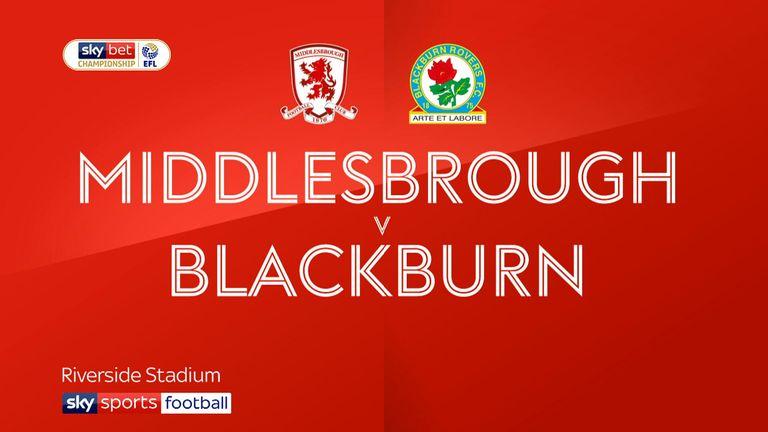 Middlesbrough v Blackburn