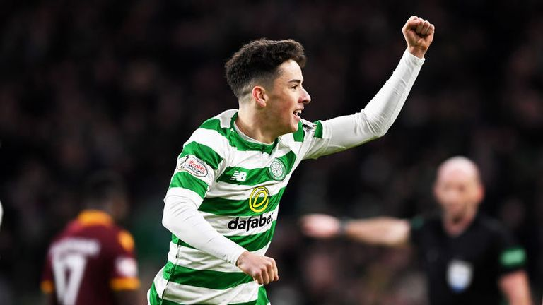Mikey Johnston added a third for Celtic