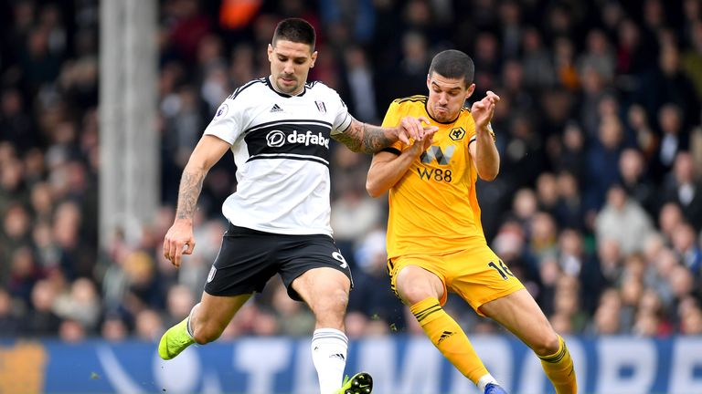 Aleksandar Mitrovic missed a host of chances as Fulham were held by Wolves