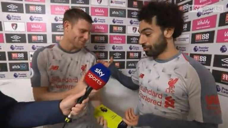 Mo Salah gives up MOTM award for James Milner on 500th Premier League appearance | Football News |