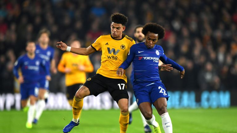 Morgan Gibbs-White will hope to impress on the Renault Super Sunday at Newcastle