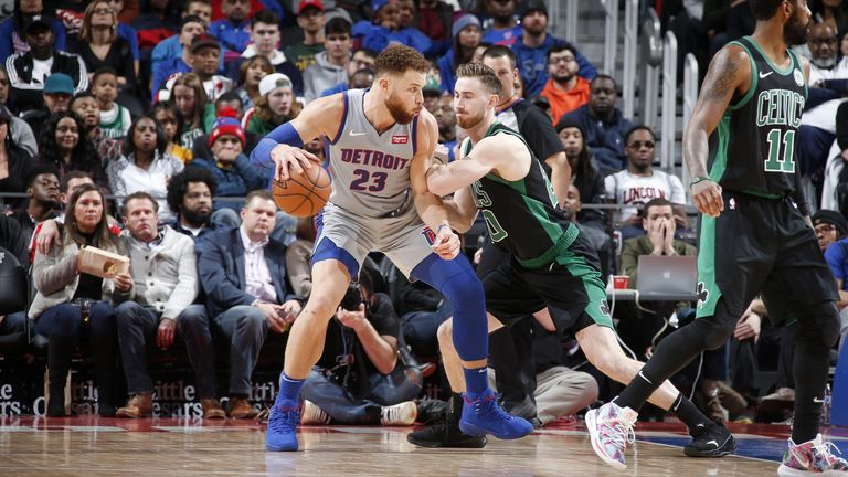 104 Celtics - Pistons 113