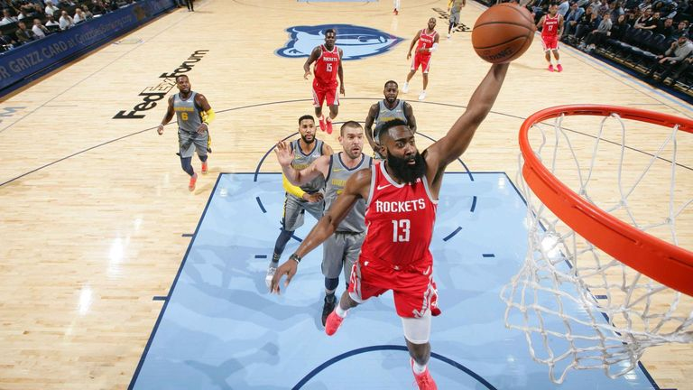 James Harden produces red-hot 10-game streak to revive Houston Rockets season | NBA News