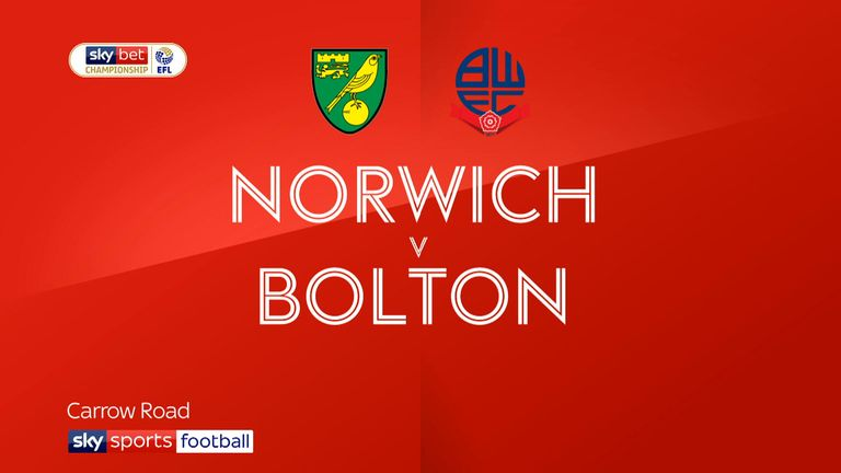 Norwich v Bolton