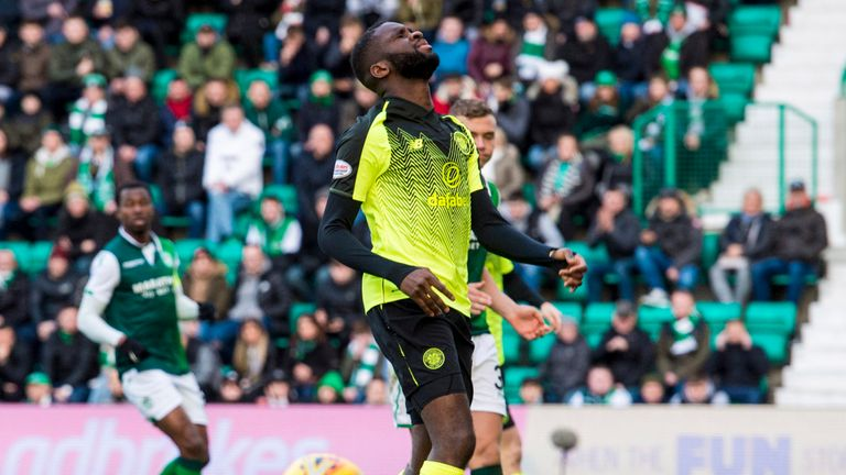 Odsonne Edouard is the only available striker at the moment for Celtic