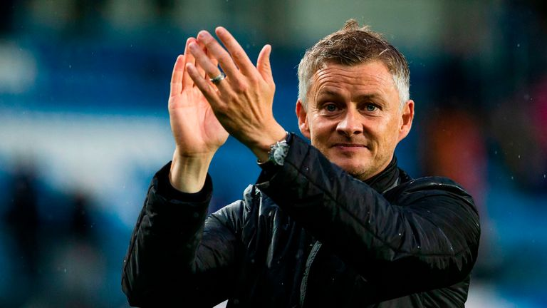 Solskjaer was accidentally unveiled as United's interim manager on the club's website on Tuesday night