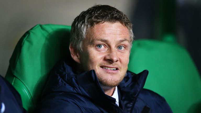 GLASGOW, SCOTLAND - NOVEMBER 05:  Ole Gunnar Solskjaer manager of Molde looks on during the UEFA Europa League match between Celtic FC and Molde FK at Celtic Park on November 5, 2015 in Glasgow, Scotland.