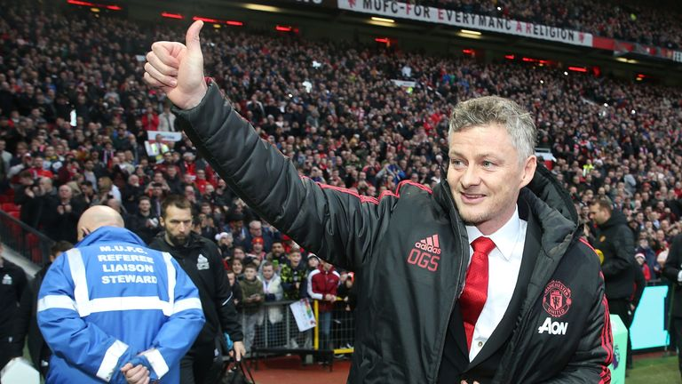 Ole Gunnar Solskjaer took charge of his first game at Old Trafford as Man Utd boss on Boxing Day