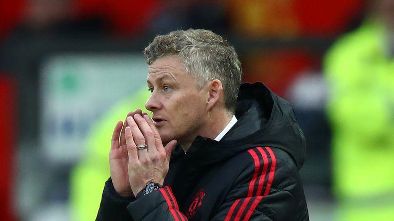 Ole Gunnar Solskjaer Manchester United caretaker manager