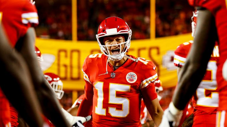 pretty nice b49cf f9ed9 2019 Pro Bowl: Patrick Mahomes and Russell Wilson to lead ...