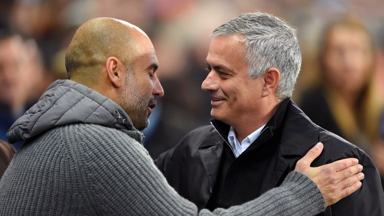 Pep Guardiola has sympathy for Jose Mourinho