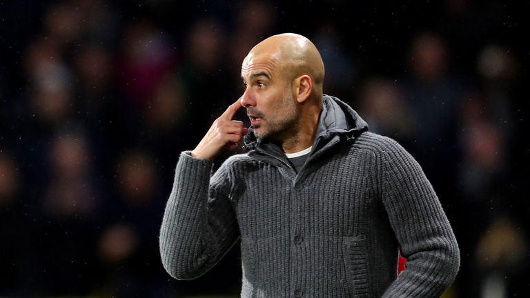 Pep Guardiola takes his unbeaten Manchester City to Chelsea on Saturday evening