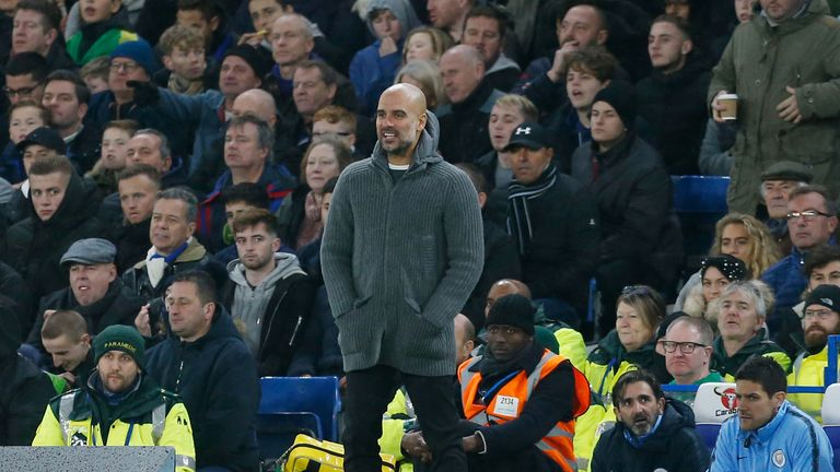 Pep Guardiola thinks anyone can win the Premier League after Man City lost their unbeaten start to the season