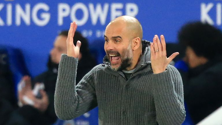 Pep Guardiola's Manchester City side are finally beginning to show some weakness