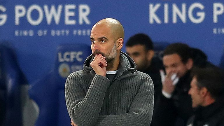 Pep Guardiola's side have fallen seven points short in the race for the title