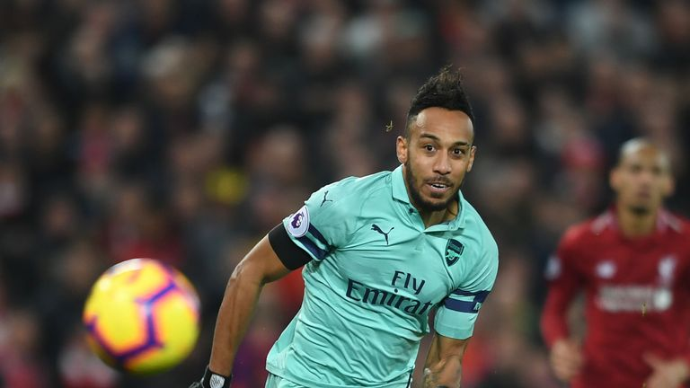 Aubameyang could be in the goals against Cardiff