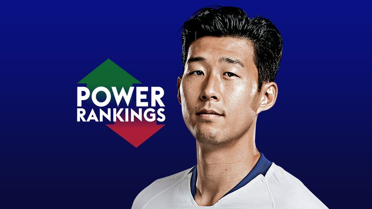 Premier League Power Rankings: Tottenham's Heung-Min Son top | Football News |