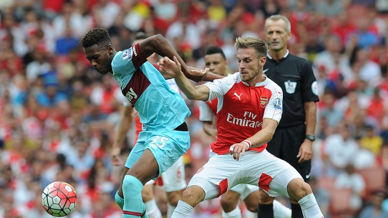 Reece Oxford made a memorable debut against Arsenal