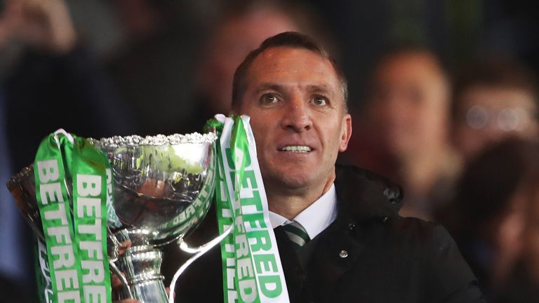 A seventh domestic trophy for Brendan Rodgers keeps hopes of a treble-treble alive at Celtic