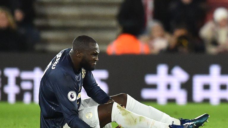 Romelu Lukaku suffered an injury late on against Southampton