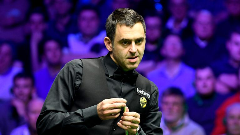 Ronnie O Sullivan Will Take On James Cahill At The World Snooker Championship