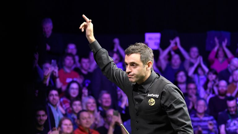 Ronnie O'Sullivan says only a select few can be considered great