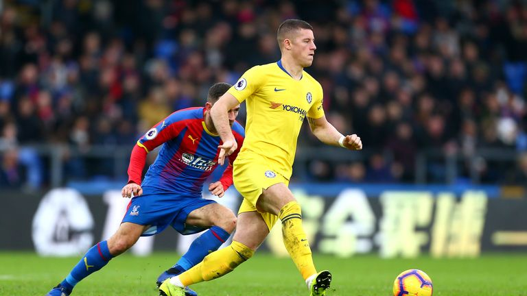 Ross Barkley replaced Mateo Kovacic in the Chelsea XI on Sunday