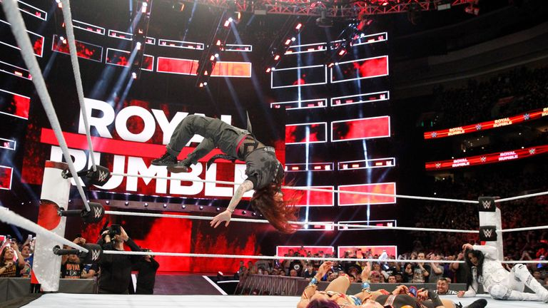 You could be flying high at the Royal Rumble with our exclusive Sky VIP competition