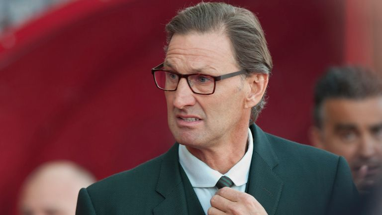 Tony Adams takes role of  president of the Rugby Football League.