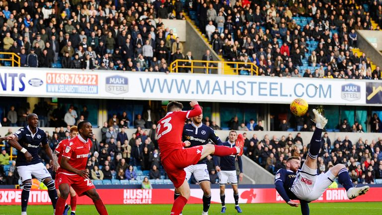 Ryan Tunnicliffe scored the only goal for Millwall