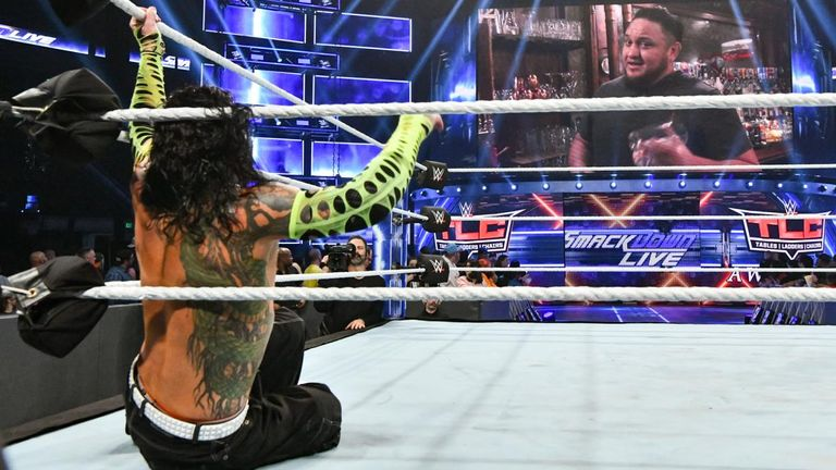 Samoa Joe's involvement once again proved costly for Jeff Hardy