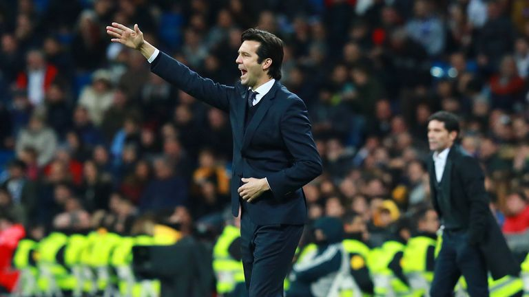 Santiago Solari saw his side bounce back from a humiliating defeat at Eibar last weekend