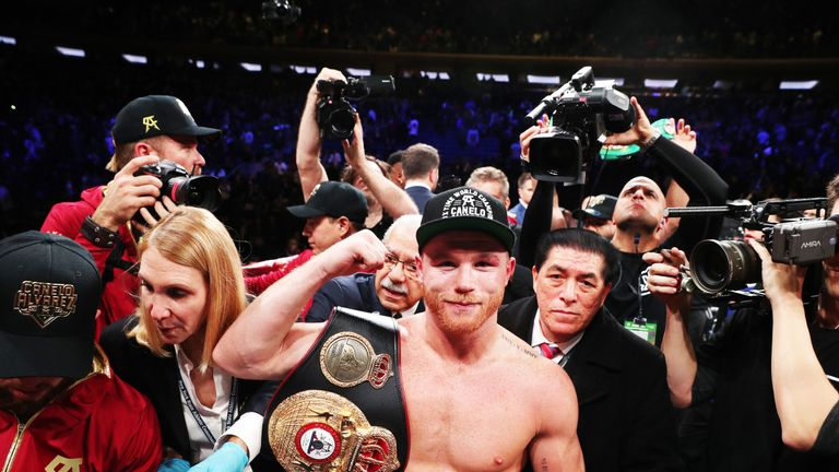 Saul Alvarez has lost just once in 54 professional contests