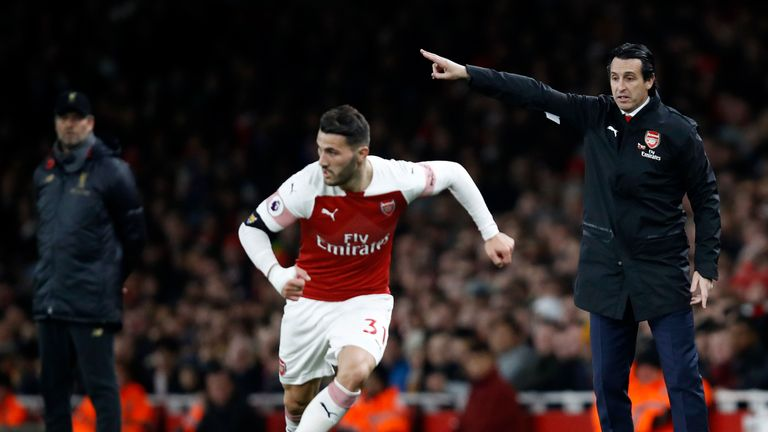 Unai Emery has made Arsenal stronger, according to Sead Kolasinac