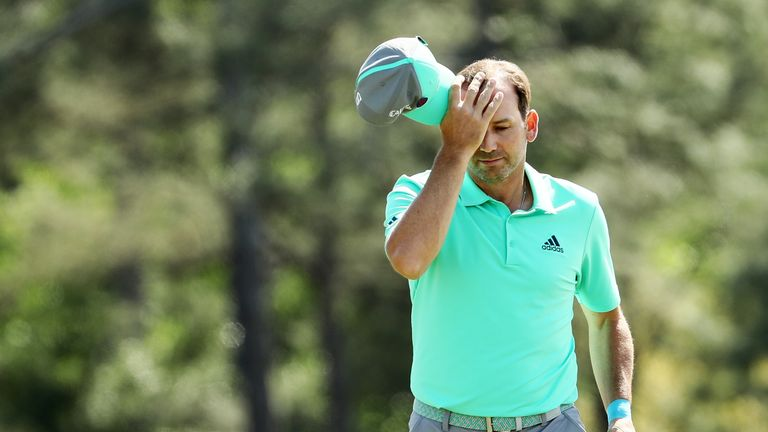 Sergio Garcia became the first European Tour player to be disqualified for serious misconduct