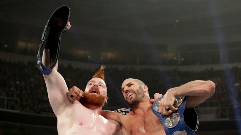 Sheamus and Cesaro remain on top of SmackDown's tag-team division