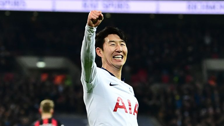 Heung-min Son scored another double for Spurs