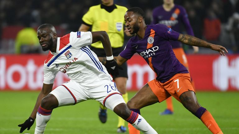 Tanguy N'Dombele impressed against Manchester City in the Champions League group phase.