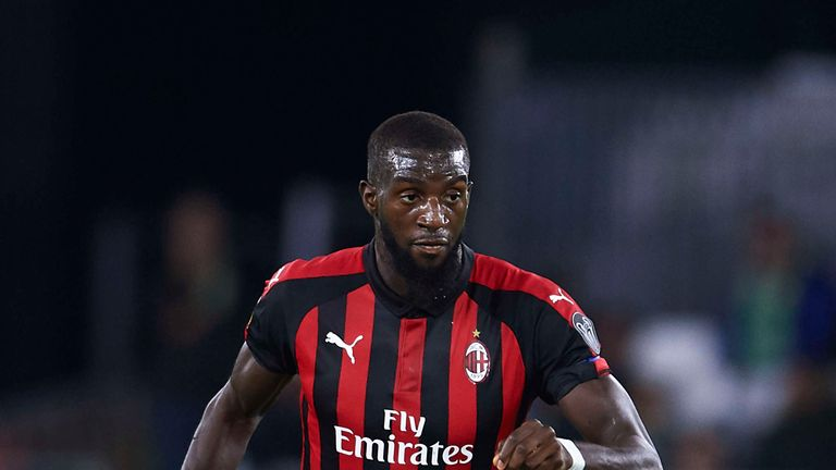 Tiemoue Bakayoko is currently on loan at AC Milan
