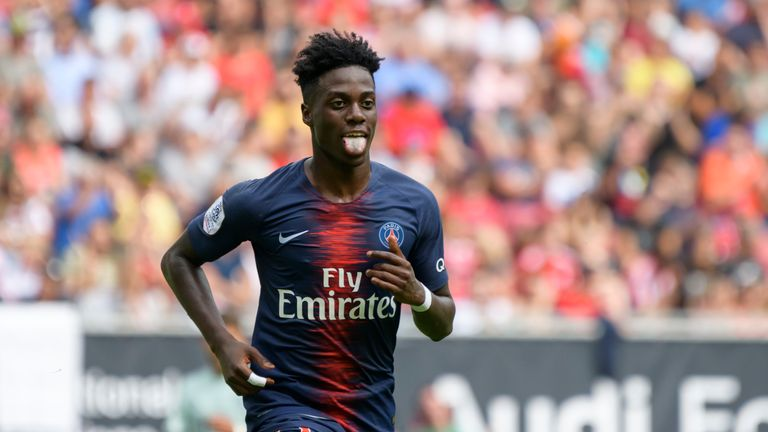 Timothy Weah is wanted by Celtic