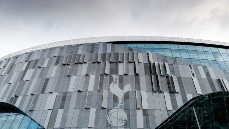 Tottenham still need to hold two test events at the new stadium