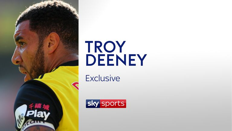 Troy Deeney gave an insight into his style of play and performances at Watford