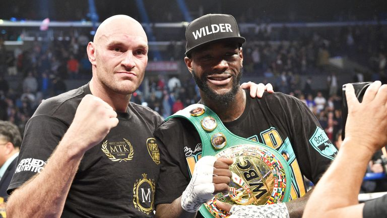 Tyson Fury had to settle for a draw with Deontay Wilder last weekend